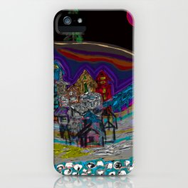 lonely village iPhone Case