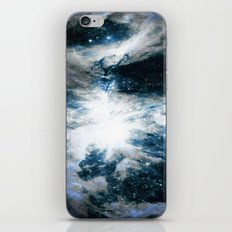 Orion Nebula Blue & Gray iPhone & iPod Skin