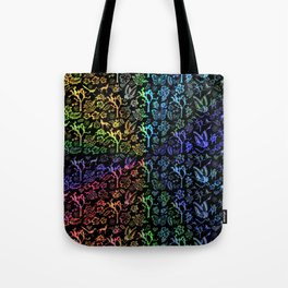Joshua Tree Arco Iris by CREYES Tote Bag