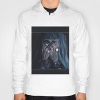 grimes Hoodies featuring Grimes by annelise johnson