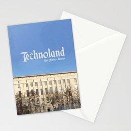 Technoland, Berlin, the Techno Meca Club! Stationery Cards