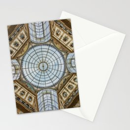 Ceiling of the Galleria Vittorio Emanuele II, Milan Stationery Cards