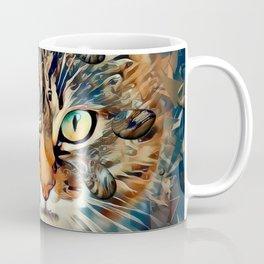 Cats Popart by Nico Bielow Coffee Mug