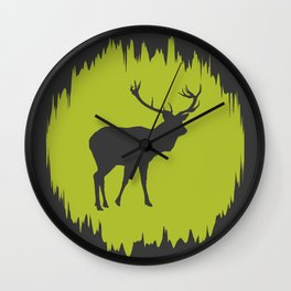 Nature's Plaything Wall Clock