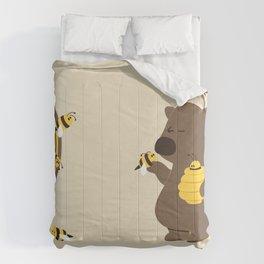 Bee game Comforters