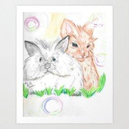 Lionhead Spring Art Print