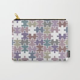 Shades of Gray puzzle Carry-All Pouch