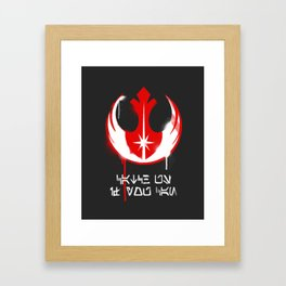 Catch Us If You Can Framed Art Print