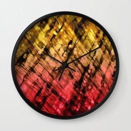 Interwoven, Sunglow Wall Clock