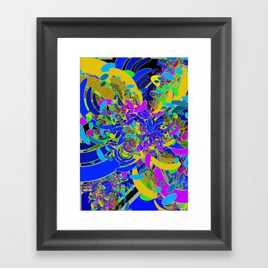 geçişler Framed Art Print