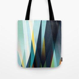 mid century geometry Tote Bag