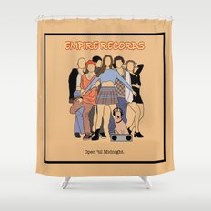 Empire Records Vintage Movie Poster Shower Curtain