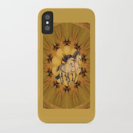 HORSES - The Buckskins iPhone Case