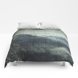 Misty Mountains Vol. X Comforters