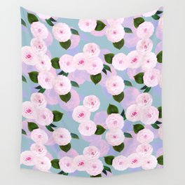 The Camellia Theory Wall Tapestry
