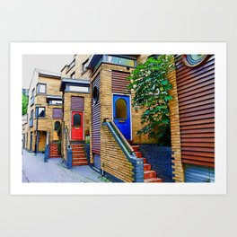 Stairs to Nowhere  -  Greenwich London Art Print