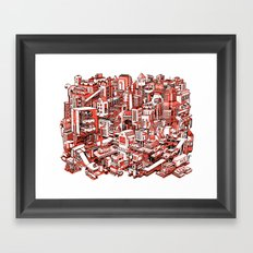City Machine Framed Art Print
