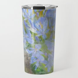 Agapanthus in Blue Travel Mug