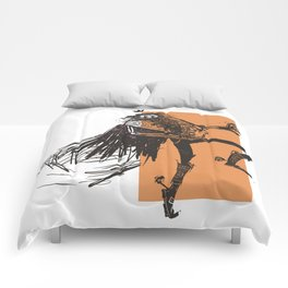 skeleton lord mexican style Comforters