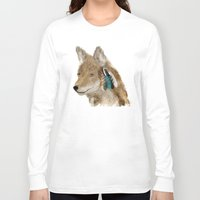 coyote Long Sleeve T-shirts featuring Coyote by bri.buckley