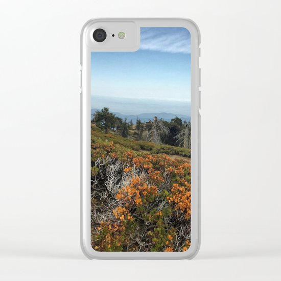 Summit Panorama Clear iPhone Case