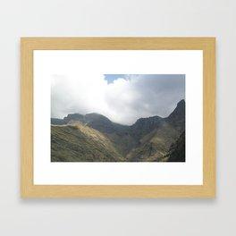 hvj Framed Art Print