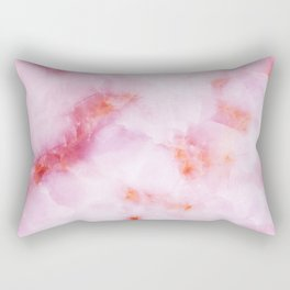 Pink Marble Rectangular Pillow