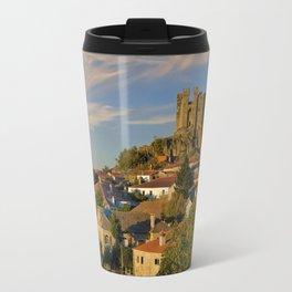 Penedono castle Portugal Travel Mug