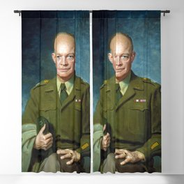 Dwight D. Eisenhower by Thomas Edgar Stephens (1947) Blackout Curtain