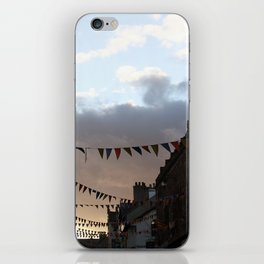 Sunset in Conwy iPhone Skin