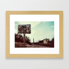 {beyond} Framed Art Print