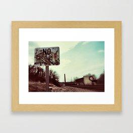 {beyond} Framed Art Print