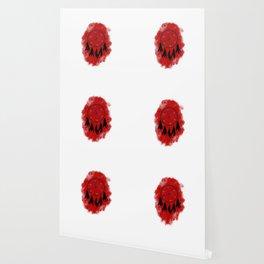 Dreamcatcher crow: Red background Wallpaper
