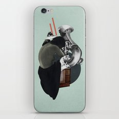 Silhouette d'une Trompeuse iPhone & iPod Skin