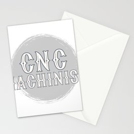 CNC Machinist print I Funny G28 Operator Programmer Gift Stationery Cards