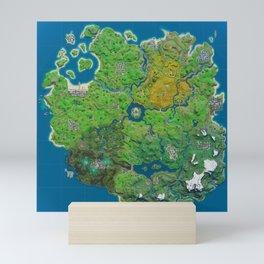 Chapter Map Mini Art Print