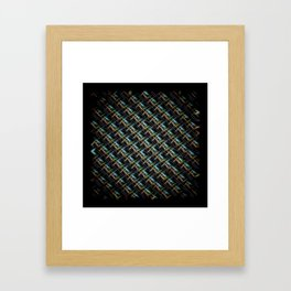 The Near Side Of A Space Entity Framed Art Print