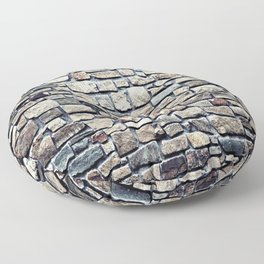 Stone rocks Wall optic Floor Pillow
