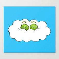 Sleep in Heavenly Peas! Canvas Print