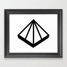 OMD Symbol Framed Art Print