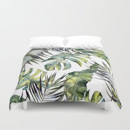TROPICAL GARDEN 2 Duvet Cover