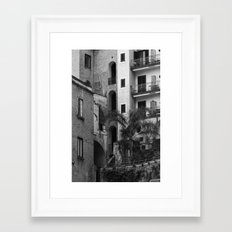 Variety in architecture Framed Art Print
