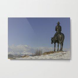 Cochrane Ranch Metal Print