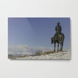 Cochrane Ranch Metal Print