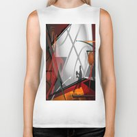 basketball Biker Tanks featuring Basketball by Robin Curtiss