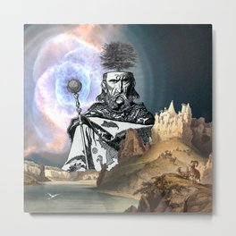Uther is a little upset. Metal Print