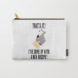 that's it! i've come up with a new recipe! Carry-All Pouch