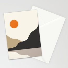 abstract minimal 47 Stationery Cards