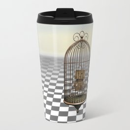Living in a golden cage Travel Mug