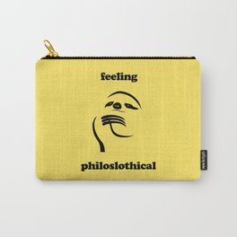 Feeling Philoslothical Carry-All Pouch